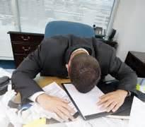 head on desk