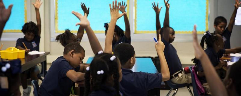 students raising hands2
