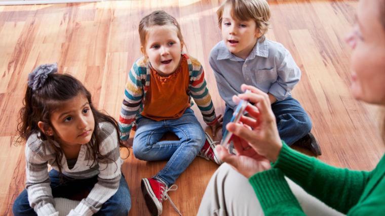 preschool classroom kids