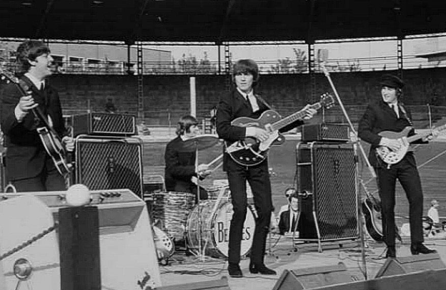 Beatles in concerto al Velodromo Vigorelli 1965