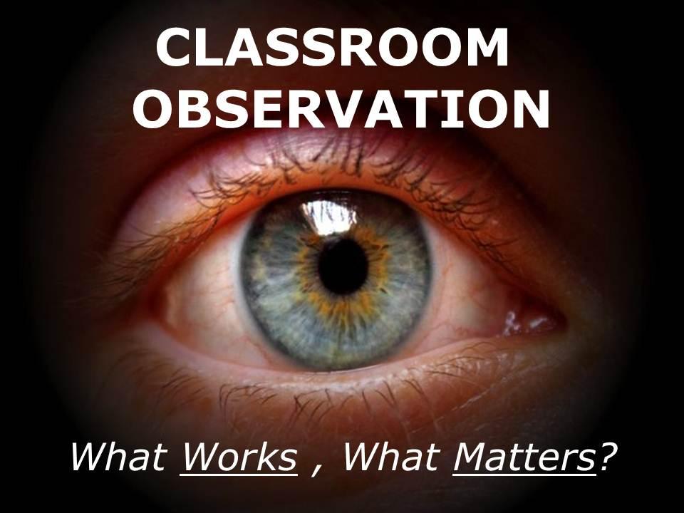 classroom observation eye