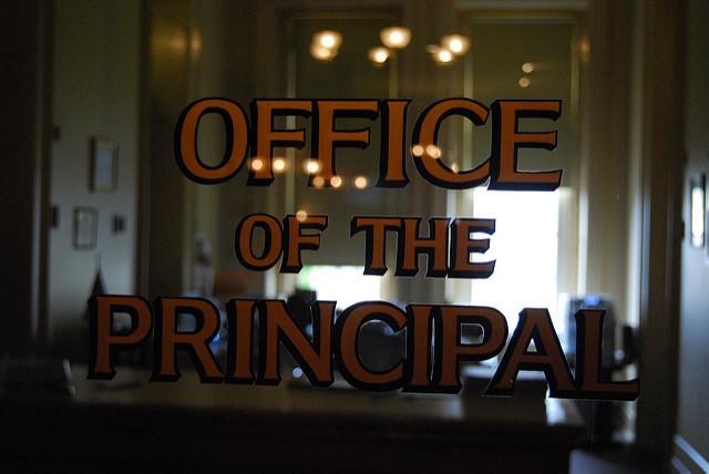 principals office door