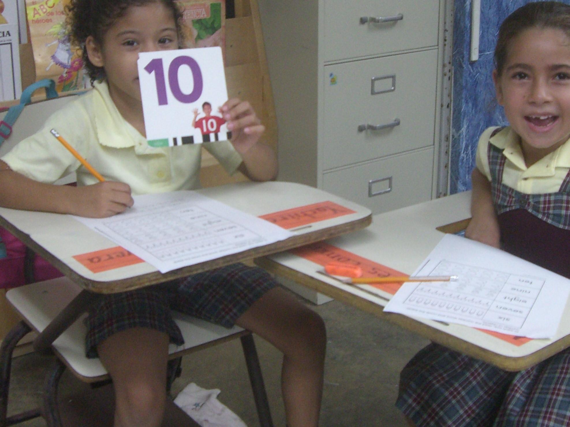 Girl students Yabucoa
