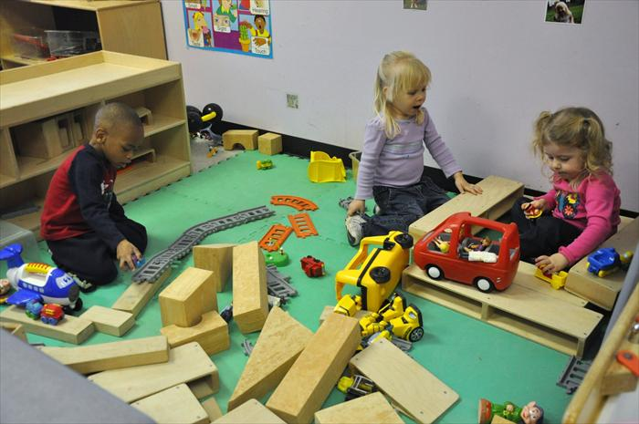 Twos Block Play