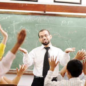 classroom male teacher