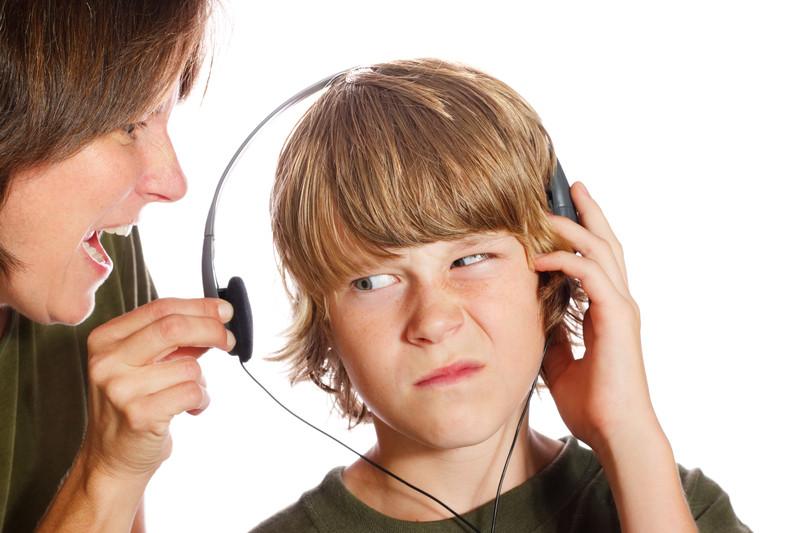 kid not listening